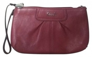 Coach Wristlet in Rose