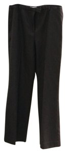 Anne Klein Trouser Pants Black with Strips