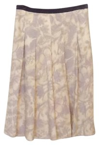 Anne Klein Skirt Yellow and Lavender