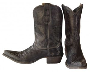 Ariat Stone Washed Black Boots