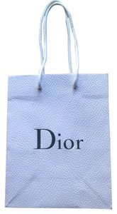 Christian Dior Dior paper shopping gift bag white