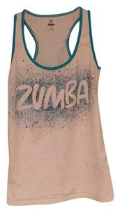 Zumba Fitness Instructor Top White