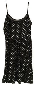 Forever 21 short dress Black with White Polka Dots Dot on Tradesy