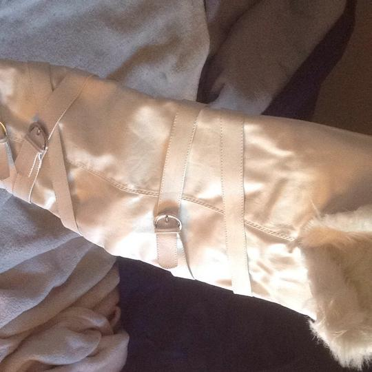 Breckelle's White with Silver Buckles Boots