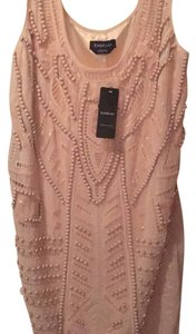 bebe short dress Blush on Tradesy