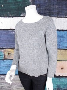 Eileen Fisher Speckle 100 Linen Petite Pm Sweater