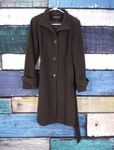 Ellen Tracy Womens Wool Coat