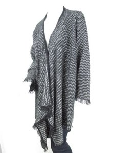 Roni Rabl Front Long Shawl Blanket Cardigan One Os Sweater