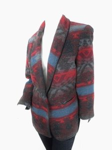 Coldwater Creek Coldwater Creek Tribal Aztec Southwestern Blanket Jacket Blazer Petite Pm