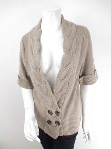 Classiques Entier Nordstrom Blend Cable Knit Cardigan Sweater