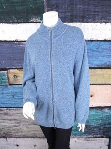 Liz Claiborne Me Zipper Front Sweater