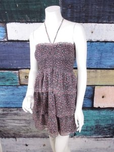 American Eagle Outfitters short dress Blue, Pink Ae on Tradesy