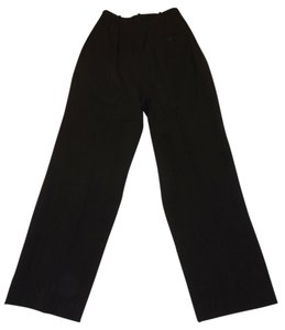 Liz Claiborne Classics High Waisted Size 4 Slacks Straight Pants Black
