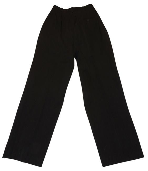 Liz Claiborne Classics High Waisted Size 4 Slacks Straight Pants Black Image 0