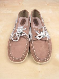 Sperry Top Sider Bluefish Beige, Gray Flats