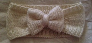 Other Knit Bow Earwarmer
