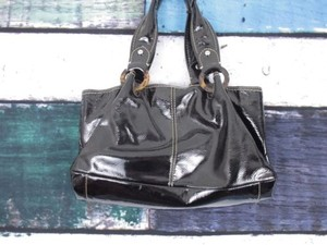Fossil Patent Leather Shoulder Bag
