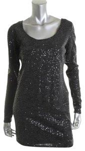 Buffalo David Bitton short dress Grey Night Out Sexy Sparkle on Tradesy