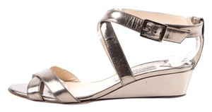 Jimmy Choo Metallic Bronze Sandals