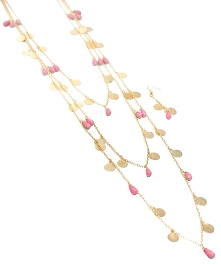 none Necklace And Earring Set