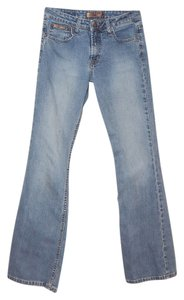 L.E.I. Size 4 Boot Cut Jeans-Light Wash