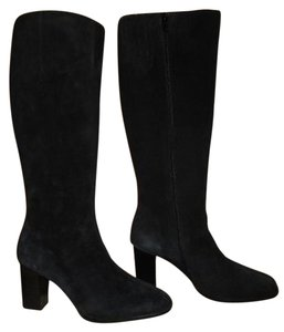 Newport News Leather black Boots