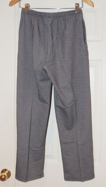 Other Elastic Waist B&w Trouser Pants Black and white Image 1