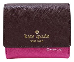 Kate Spade Kate Spade New York Women's Tavy Wallet, Mulled Wine/Vivid Snapdragon