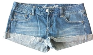 American Eagle Outfitters Mini/Short Shorts Blue Denim