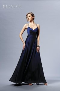 Belsoie Navy Belsoie L164010 Dress