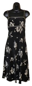 Maggy London Spaghetti Straps Silk Lightweight Dryclean Only Dress