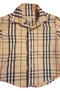Burberry Button Down Shirt Nova Check