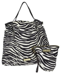 Jimmy Choo Tote in Blk/white