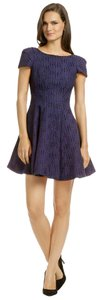 Tibi short dress Blue on Tradesy