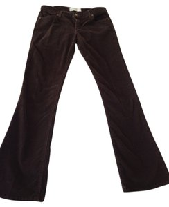 Paper Denim & Cloth & Corduroy Boot Cut Pants Brown