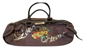 Ed Hardy Satchel in Purple