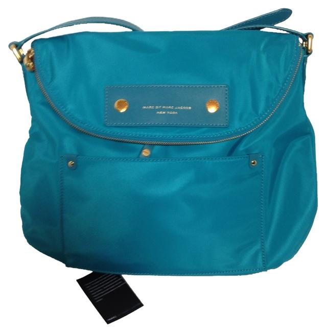 Item - Preppy Natasha Deep Teal Nylon Cross Body Bag