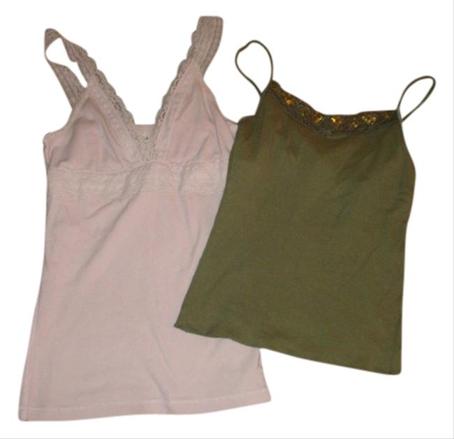 Abercrombie & Fitch Top Pink and Green