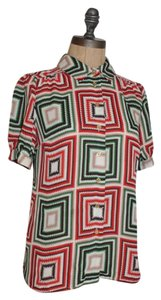 Vince Camuto Career Top MULTI-COLOR
