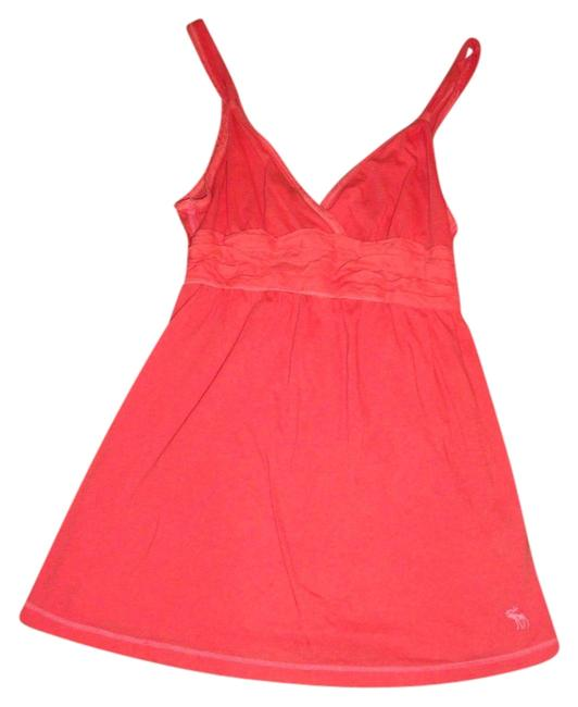 Preload https://img-static.tradesy.com/item/1497255/abercrombie-and-fitch-coral-tank-topcami-size-2-xs-0-0-650-650.jpg