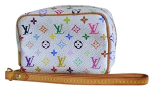 Louis Vuitton Wapiti Wapity White Wristlet in Monogram