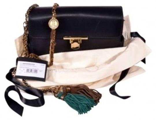 Lanvin Daddy (Clutch Cross Body) Calf Leather Shoulder Bag