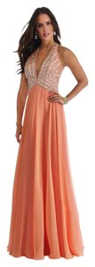 Morrell Maxie Chiffon Size 4 Prom Dress