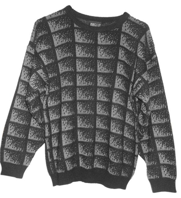 Preload https://item1.tradesy.com/images/brown-and-black-sweaterpullover-size-8-m-1497310-0-0.jpg?width=400&height=650
