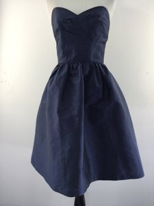 Alfred Sung Midnight Blue Strapless Dress