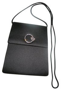 Fellini By Carlo Fellini Formal Purse Black Clutch