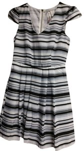 Mimi Chica short dress New!!!Gray, Black, White Black Gray Formal Pattern on Tradesy