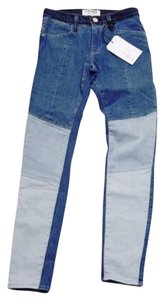 Frame Denim Skinny Jeans-Color Block