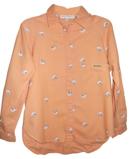 Preload https://img-static.tradesy.com/item/1497520/together-peach-casual-button-down-top-size-6-s-0-0-650-650.jpg