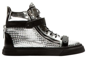 Giuseppe Zanotti Brand New In Box METALLIC SILVER Athletic